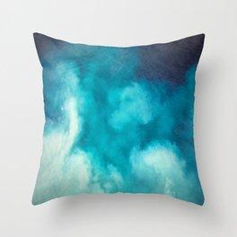 Caribbean Blues Throw Pillow