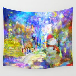 Be Happy in New 2016 Year ! Wall Tapestry