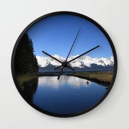 Tonsina Creek Wall Clock