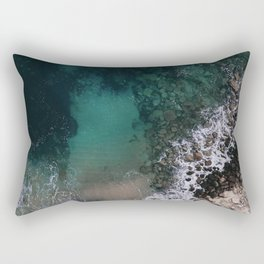 ocean blues Rectangular Pillow
