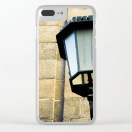 street lamp Clear iPhone Case