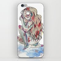 cyclops iPhone & iPod Skins featuring Cyclops by MarieBoiseau
