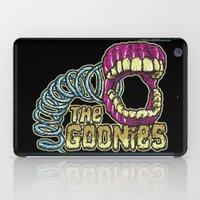 the goonies iPad Cases featuring Pinchers of Peril - Goonies by Francesco Dibattista
