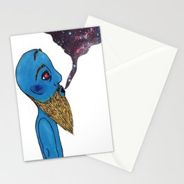 Vaping Galaxy Stationery Cards