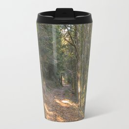 French forest road Travel Mug