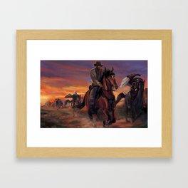 Outlaws Framed Art Print