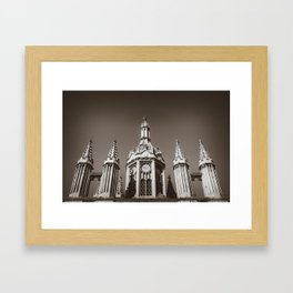 King's College Cambridge Framed Art Print