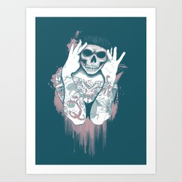97% Art Print