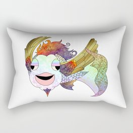 The Flying Bahamut Rectangular Pillow
