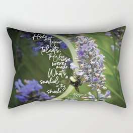 Talents Rectangular Pillow