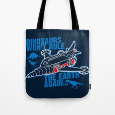 FIGHT THE DINOS Tote Bag