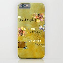 My philosophy iPhone Case