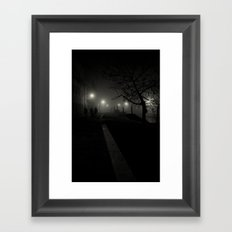 Dark night in Venice Framed Art Print