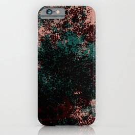Linea - Abstract Colorful Decorative Boho Chic Style Pattern iPhone Case