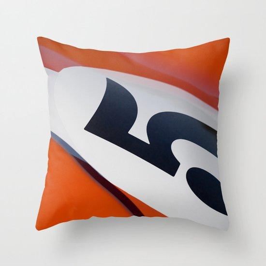 Racer Five Throw Pillow