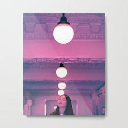Pop Girl Light Metal Print