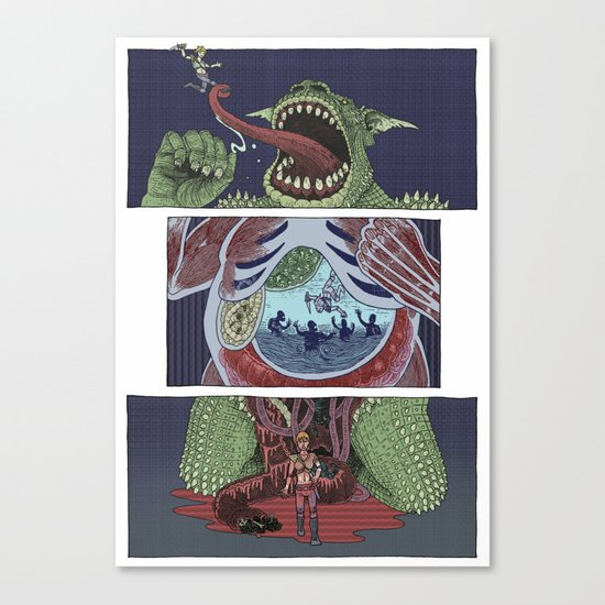 Troll Killer Canvas Print