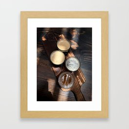 Flight of Beer Framed Art Print