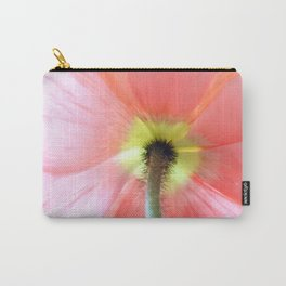 Watercolor Poppy Carry-All Pouch