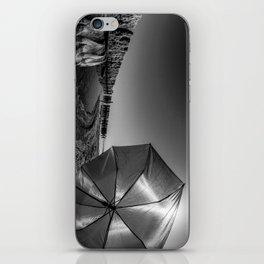 Salton Sea and an Umbrella iPhone Skin