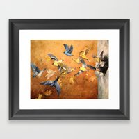 Migration Framed Art Print