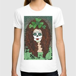 Caitriona Celebrates Samhain and the Day of the Dead T-shirt