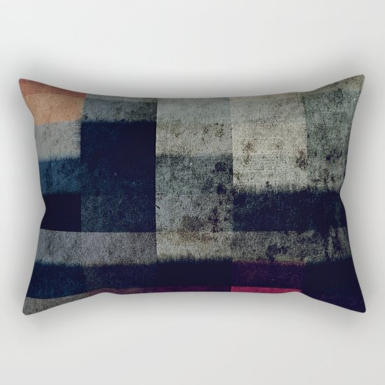 lights in the dark Rectangular Pillow