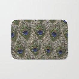 Peacock tail Bath Mat