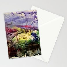 abstract composition 3 Stationery Cards
