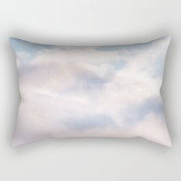 Mountains in the Clouds Rectangular Pillow