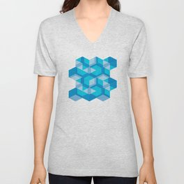 Escher #009 Unisex V-Neck
