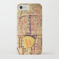 kansas city iPhone & iPod Cases featuring Dream Big Kansas City by CAPow!