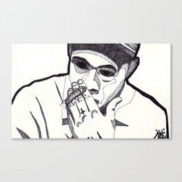 WOLF. (Blank Background) Canvas Print