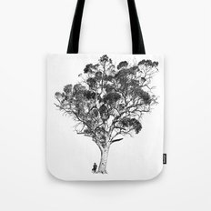 Tree and Gangster Tote Bag
