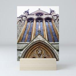 Kensington Church View Mini Art Print