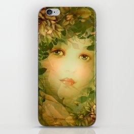 """The memory of an imagined childhood"" iPhone Skin"