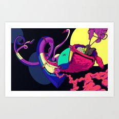 Strapped Art Print