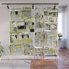 Goldenrocks and the 3 Bears Wall Mural