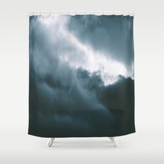Clouds X Shower Curtain