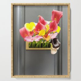 Tulip Serving Tray