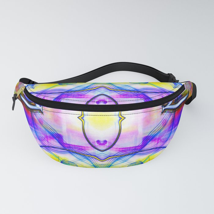 Mirrored Light Painting 6 Fanny Pack