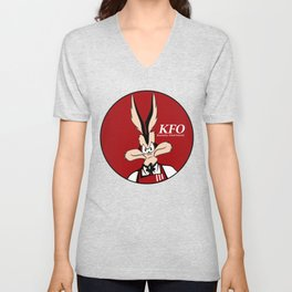 Kentucky Fried Ostrich Unisex V-Neck