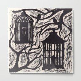 Cages Metal Print