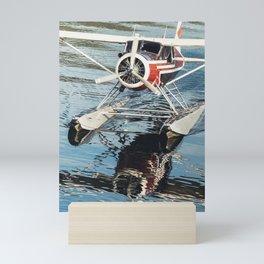 Float Plane Arrival Mini Art Print