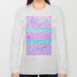Unicorn Girls Glitter #15 #shiny #decor #art #society6 Long Sleeve T-shirt