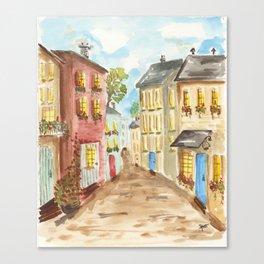 Side Street Canvas Print