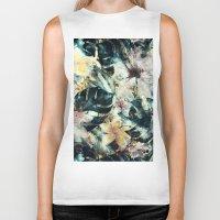 hibiscus Biker Tanks featuring Hibiscus by RIZA PEKER