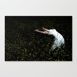 Dancer In The Field Canvas Print