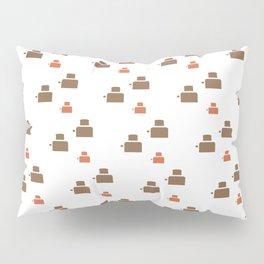TOASTER PATTERN Pillow Sham
