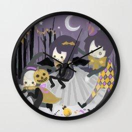 Halloween Walk Wall Clock